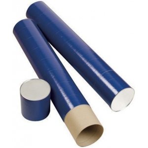 "Alvin® Indigo Fiberboard Tubes 25""; Color: Purple; Diameter: 5 1/2""; Length: 25""; Material: Fiberboard; (model T420-25/BX), price per box"