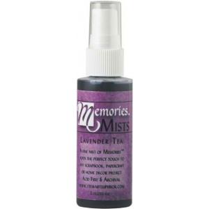 Memories™ Mist Spray Ink Lavender Tea: Purple, Spray Bottle, Pigment, 2 oz, (model SSMMLT), price per each