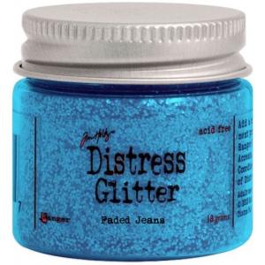 Ranger Tim Holtz Distress Glitter: Faded Jeans