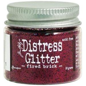Ranger Tim Holtz Distress Glitter: Fired Brick