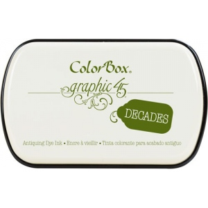Clearsnap ColorBox Graphic 45 Decades Inkpads: Antique Moss