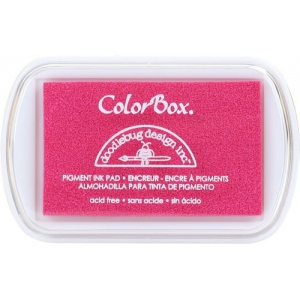 Clearsnap ColorBox Doodlebug Design Pigment Inkpads: Bubblegum