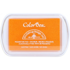 Clearsnap ColorBox Doodlebug Design Pigment Inkpads: Tangerine