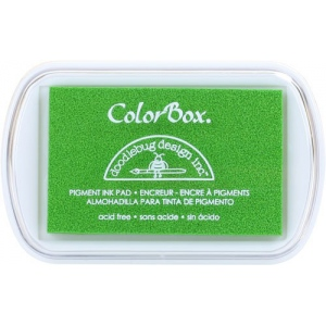 Clearsnap ColorBox Doodlebug Design Pigment Inkpads: Limeade
