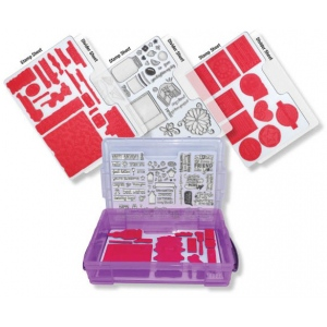 Zutter Cling & Clear Stamp Storage System
