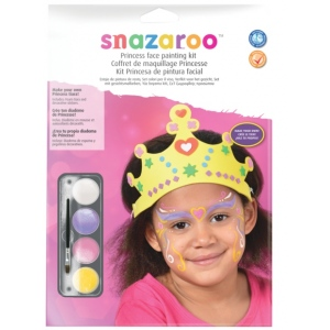 Snazaroo™ Role Play Princess Face Painting Kits; Color: Multi; Type: Face Painting; (model 1184015), price per set