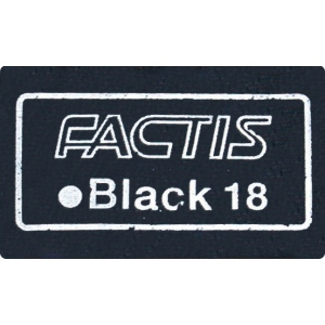 Magic Black™ Soft Erasers 18/Box; Format: Stick; Material: Rubber; Quantity: 18-Box; Type: Manual; (model GBS-18), price per 18-Box box