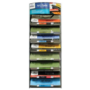Canson Montval Artist Series Art Pad Display Assortment