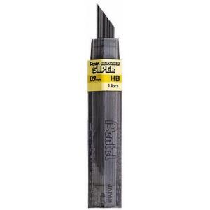 Pentel® Super Hi-Polymer® Super Lead .9mm HB; Degree: HB; Lead Color: Black/Gray; Lead Size: .7mm; Type: Lead; (model 50-9-HB/BX), price per box