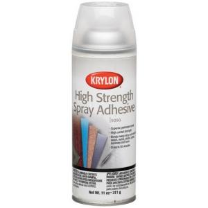 Krylon® High Strength Spray Adhesive; Size: 11 oz; Strength: Permanent; (model K9090), price per each