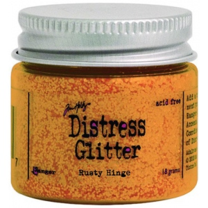 Ranger Tim Holtz Distress Glitter: Rusty Hinge