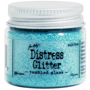 Ranger Tim Holtz Distress Glitter: Tumbled Glass