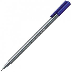 Staedtler® Triplus® Blue Fineliner Pen ; Color: Blue; Tip Size: .3mm; Tip Type: Super Fine Nib; Type: Multi; (model 334-3), price per each