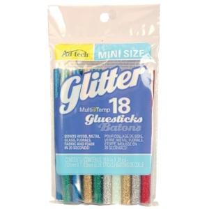 "Ad Tech™ MultiTemp 4"" Mini Glitter Glue Sticks; Size: 4""; Strength: Permanent; (model AT313-3418), price per pack"