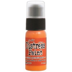 Ranger Tim Holtz Distress Paint Ripe Persimmon