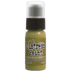 Ranger Tim Holtz Distress Paint Crushed Olive