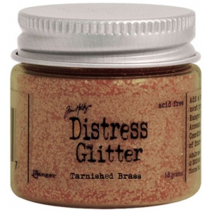 Ranger Tim Holtz Distress Glitter: Tarnished Brass