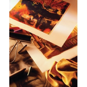 """Canson® BFK Rives® 22"""" x 30"""" Printmaking Sheets Off White; Color: White/Ivory; Format: Sheet; Size: 22"""" x 30""""; Texture: Smooth; (model C204281124), price per sheet"""