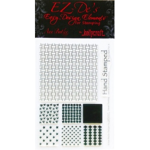 KellyCraft EZ-De's Nine Patch Stamp: Set A