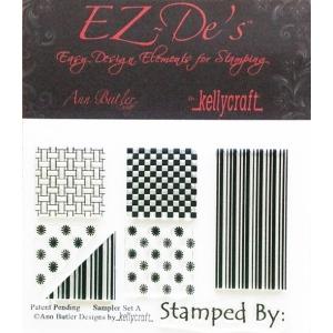 KellyCraft EZ-De's Sampler Stamp: Set A