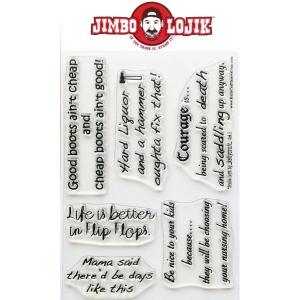 KellyCraft Jimbo Lojik Stamp: Set E