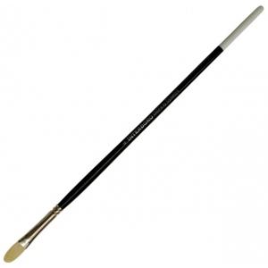 Dynasty® Interboro® Bristle Oil & Acrylic Brush Filbert 4: Long Handle, Bristle, Filbert, Acrylic, (model FM10608), price per each