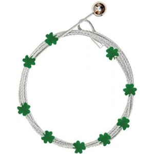 Mishu Mighty Magnet Photo Cable Shamrock: Green, Photo Holder, 9 Magnets, Shamrock, Cable, (model M920), price per each