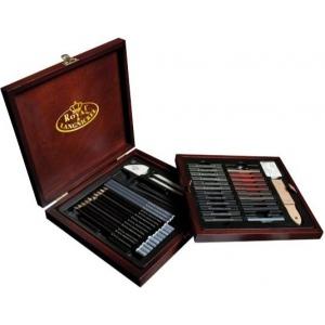 Royal & Langnickel® Premier Sketching Pencil Set; Color: Multi; Type: Drawing; (model RSET-SKET1600), price per set
