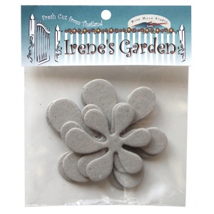 Blue Hills Studio™ Irene's Garden™ Chipboard Die-Cut Stack Pack Set B: Black/Gray, Chipboard, 55 mm - 62 mm, 75 mm - 80 mm, Dimensional, (model BHS41), price per pack