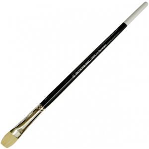 Dynasty® Interboro® Bristle Oil & Acrylic Brush Bright 10: Long Handle, Bristle, Bright, Acrylic, (model FM10596), price per each