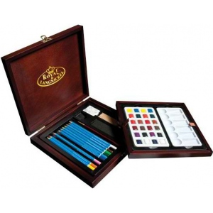 Royal & Langnickel® Premier Watercolor Pencil Set; Color: Multi; Type: Watercolor; (model RSET-WPEN1600), price per set