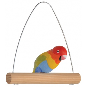 "Blue Hills Studio™ Paint Your Own Love Bird Kit; Color: Multi; Size: 5""; Type: Craft Kit; (model BHS521), price per set"