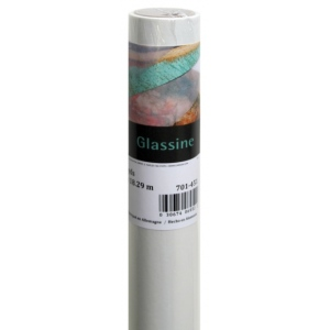 "Canson® Foundation Series 36"" x 100yd Glassine Roll; Color: White/Ivory; Format: Roll; Size: 36"" x 10 yd; (model C100510831), price per roll"