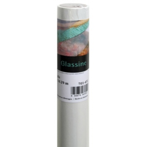 "Canson® Foundation Series 48"" x 10yd Glassine Roll; Color: White/Ivory; Format: Roll; Size: 48"" x 10 yd; (model C100510832), price per roll"