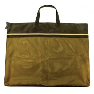 "Alvin® 18"" x 24"" Dual Zippered Pocket Fabric Mesh Bag: Green, Mesh, 18"" x 24"", Mesh Bag, (model EBDZ1824), price per each"