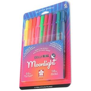 Sakura Gelly Roll Moonlight Gel Pens: 10 Color Set