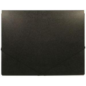 "Heritage Arts™ 11"" x 14"" Deluxe Art Portfolio: Black/Gray, 7/16"", Polypropylene, 11"" x 14"", (model HDAP1114), price per each"