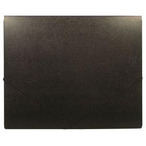 "Heritage Arts™ 14"" x 17"" Deluxe Art Portfolio: Black/Gray, 7/16"", Polypropylene, 14"" x 17"", (model HDAP1417), price per each"