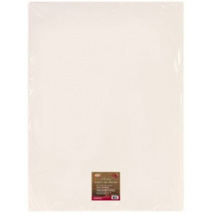 "Heritage Arts™ 90 lb. Cold Press Watercolor Sheet Stock; Color: White/Ivory; Format: Sheet; Size: 22"" x 30""; Texture: Cold Press; Type: Watercolor; Weight: 90 lb; (model HWCP90-25), price per sheet"