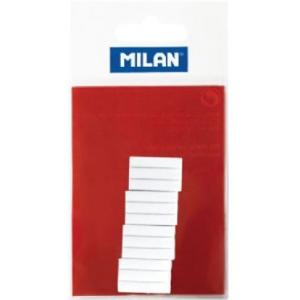 Milan® Battery Powered Eraser White Refills; Material: Rubber; Quantity: 12-Box; Type: Eraser Refill; (model LPM10059), price per 12-Box