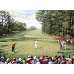 "Royal & Langnickel® Painting by Numbers™ 12 3/4 x 15 3/4 Adult Set Augusta Golf; Board Size: 12 3/4"" x 15 3/4""; (model PAL29), price per set"
