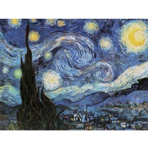 Reeves Artist Collection Painting by Numbers Advanced Range:Starry Night, Large