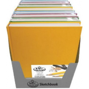 Royal & Langnickel® Sketchbook PDQ: Assorted, Book, 110 Sheets, Sketching, 65 lb, (model PDQSKETCH1D), price per each