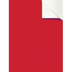 "Wallies® 9"" x 12"" Peel & Stick Chalkboard Sheets Red 2-Pack: 9"" x 12"", Chalkboard, (model WALL16039), price per pack"