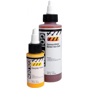 Golden High flow Acrylic: Diarylide Yellow, 1 oz.