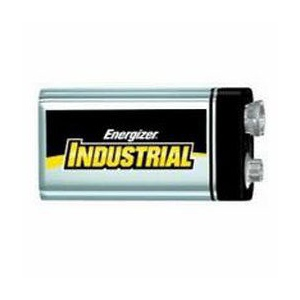 Energizer Industrial Batteries: 9V, Pack of 12