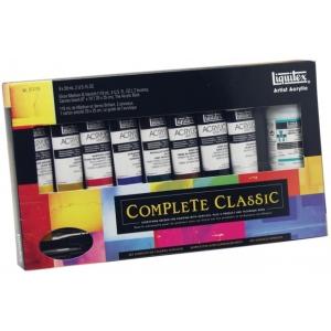 Liquitex® Professional Series Heavy Body Acrylic Complete Set; Color: Multi; Format: Tube; Size: 59 ml; Type: Acrylic; (model 103204), price per set