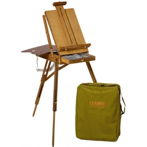 Jullian Classic Full Size French Sketch Box Easel: Avail May, 2011