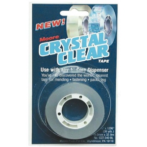 "Crystal Clear Refill Tape: General, 3/4"", (model CC340), price per each"