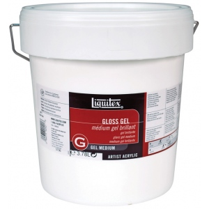 Liquitex® Gloss Gel Medium 1 Gallon: Gloss, 128 oz, Gel, (model 5736), price per each